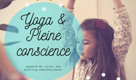 YOGA & Pleine Conscience pour les 4-8 ans à Biarritz !